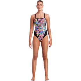 Funkita Single Strap One Piece Swimsuit Damen full metal funky